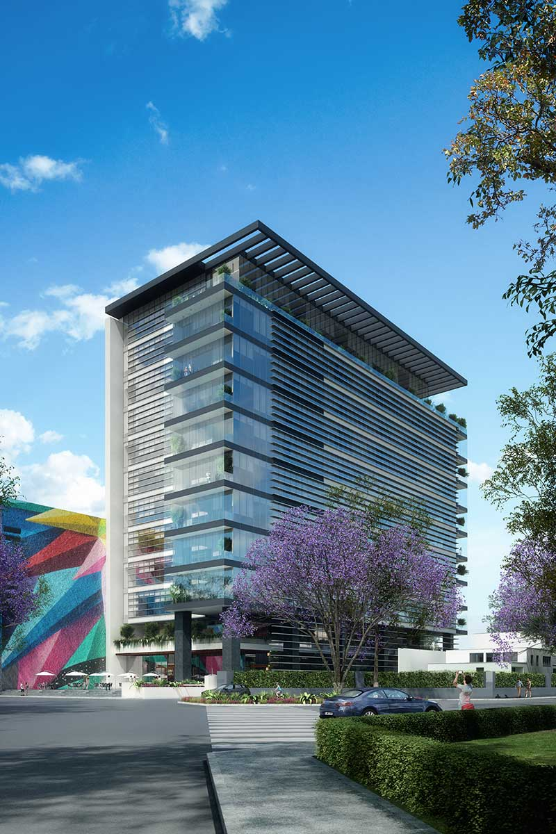 Acapulco 70 Corporate Tower, Commenced Design 2019