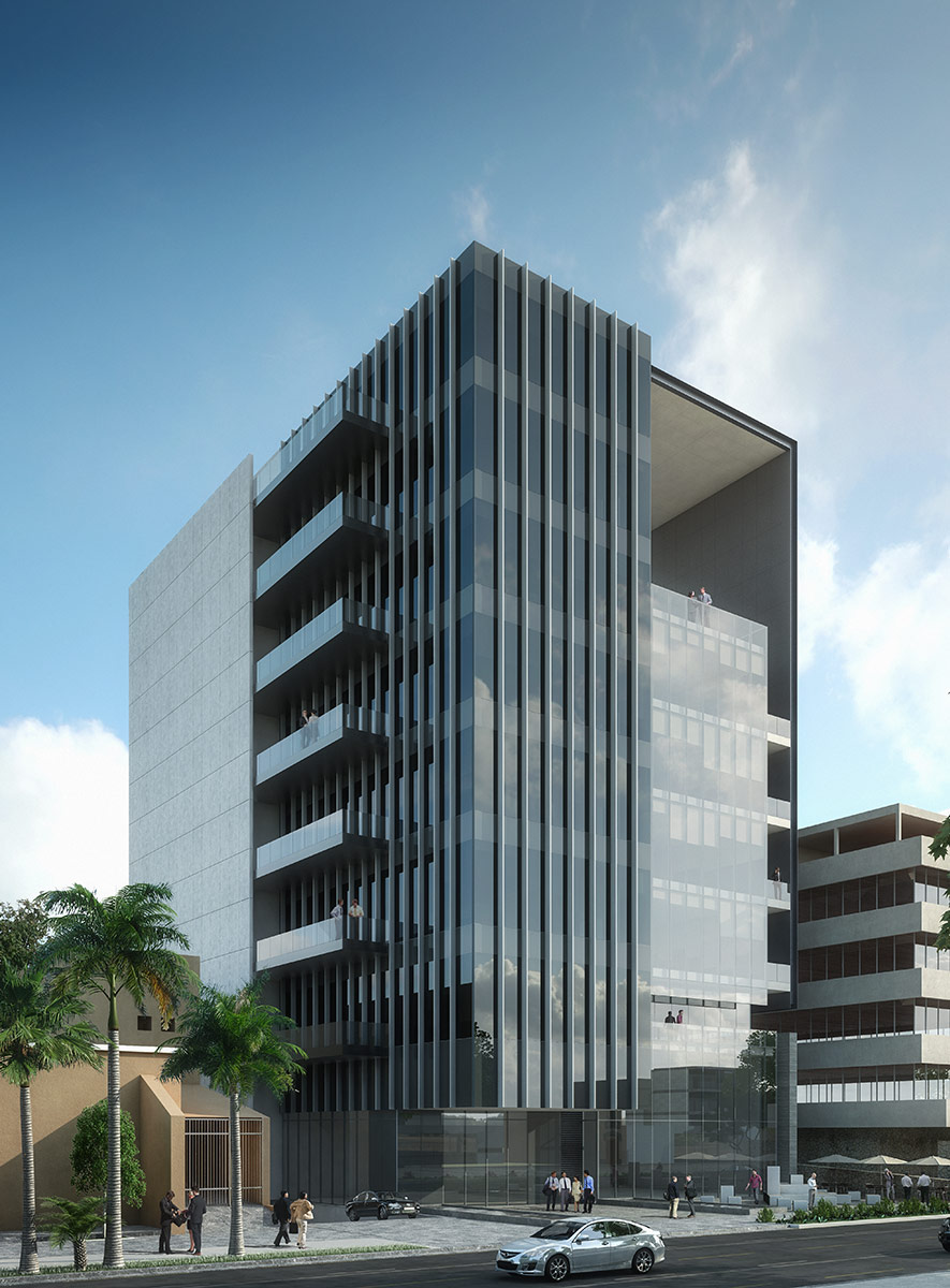 Fundaciones Corporate Building, 2016