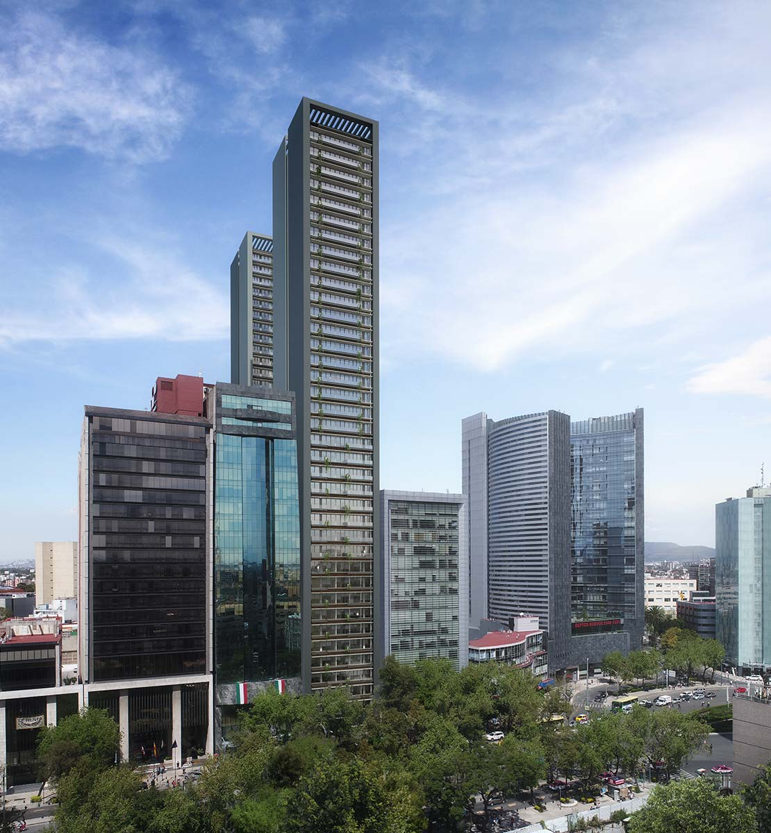 Reforma 95 Residential Towers, 2018