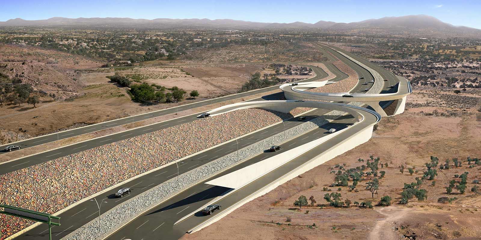 Zacatecas Highway Bridge Urban Planning, 2010